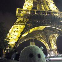 Zu Besuch in Paris