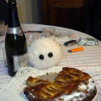 Kloß mit Kuchen